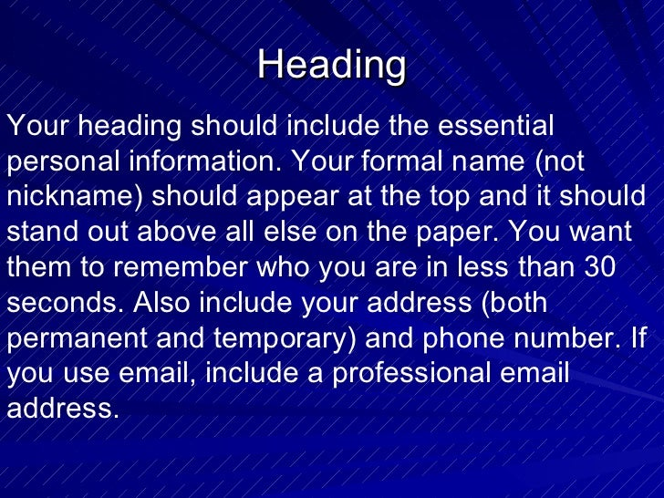 power point dos and donts of resume writing  1