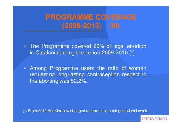 REPRODUCTIVE HEALTH PROFILE OF WOMEN SEEKING ABORTION OR CONTRACEPTION ADVICE 79% 22,7% 54,7% 64,4% 3.762 2012 92,4% 25,8%...