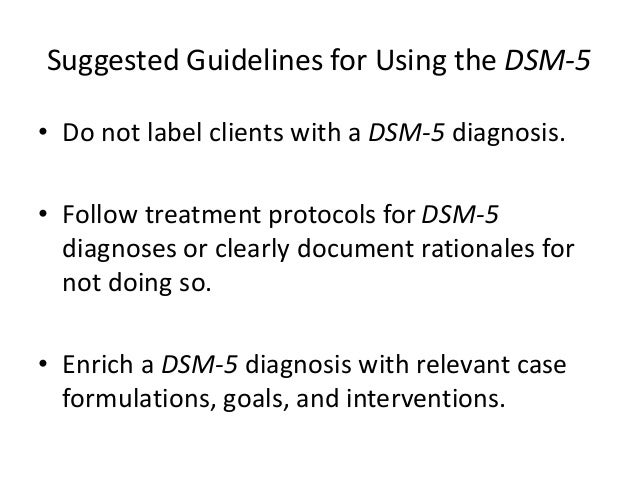 the dsm 5 Dsm-5 classification despite the fact that the dsm is a us classification system for the diagnosis of mental disorders, in conjunction with the use of official icd statistical code numbers, international interest in the manual has flourished since the dsm-iii was published in 1980.