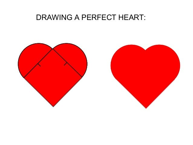 DRAWING A PERFECT HEART: