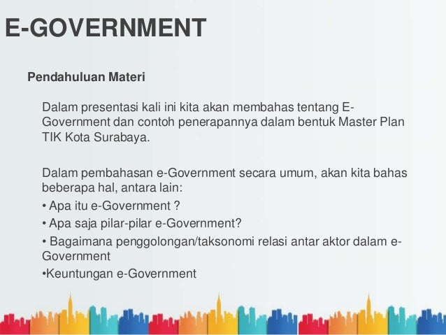 Powerpoint E Government