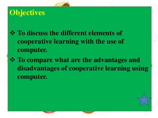 Advantages and disadvantages of cooperative learning