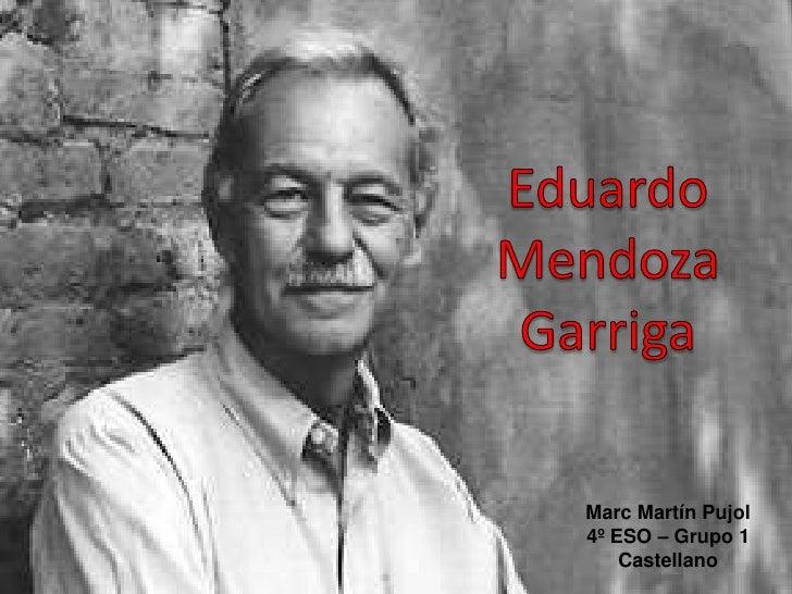 Marc Martín Pujol4º ESO – Grupo 1    Castellano