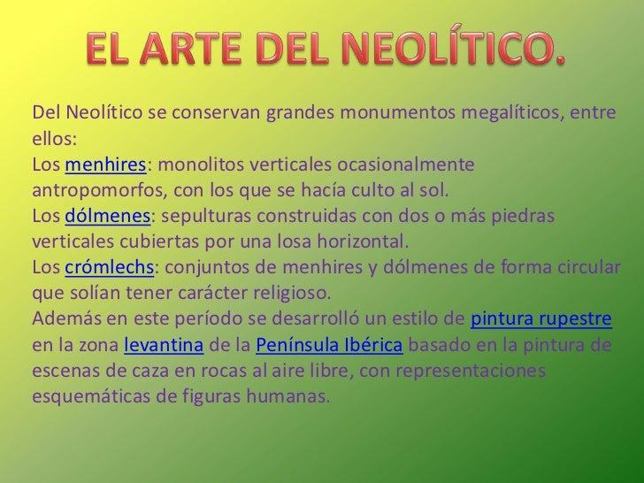 Power point el neolitico