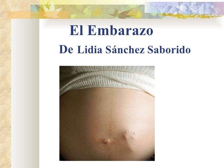 El Embarazo De   Lidia Sánchez Saborido