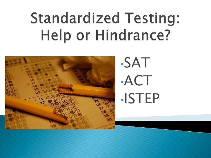 standardized testing 5 essay A standardized test is any examination that's administered and scored in a predetermined, standard manner there are two major kinds of standardized tests: aptitude tests and achievement tests.