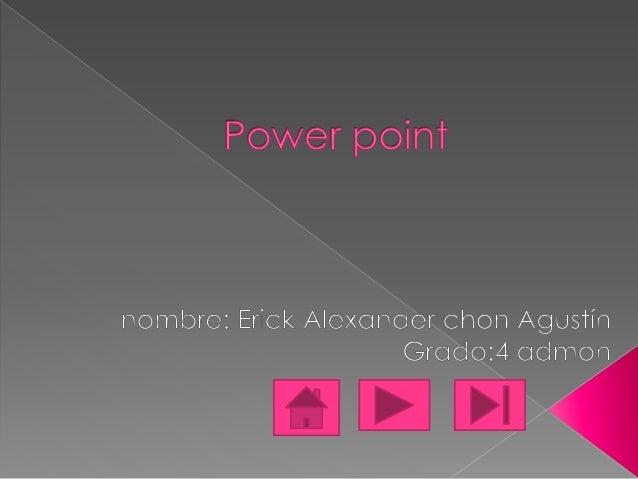  Microsoft PowerPoint es un programade presentación desarrollado porla empresa Microsoft parasistemas operativos Microsof...