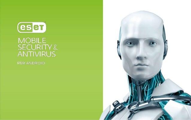 ESET Mobile Security Behalten Sie auch bei Geräteverlust die volle Kontrolle auf my.eset.com