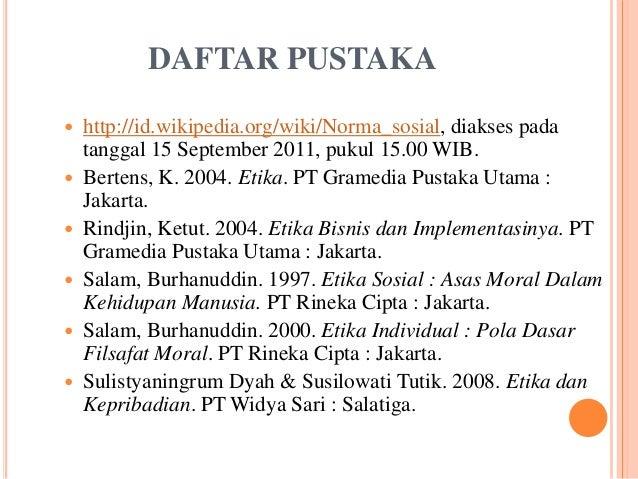 Contoh Daftar Pustaka Dari Internet Wikipedia Materi Pelajaran 2