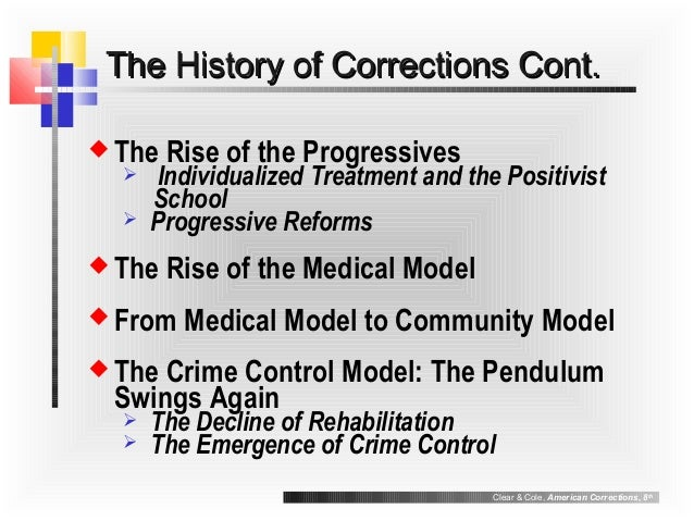 models of corrections