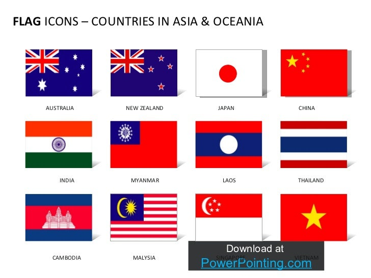 powerpoint flag icons