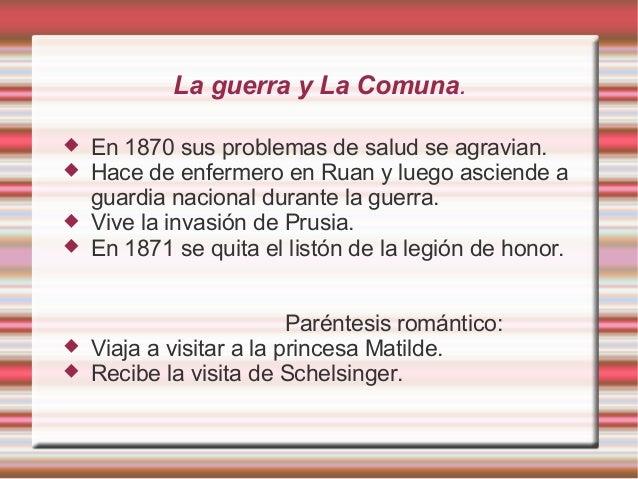 """Publicaciones y muerte.  En 1874 presenta """"El Candidato"""" en teatro → Fracaso.  En 1874 publica también """"La tentación de ..."""