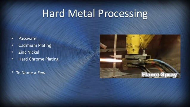Metal Finishing Company Information