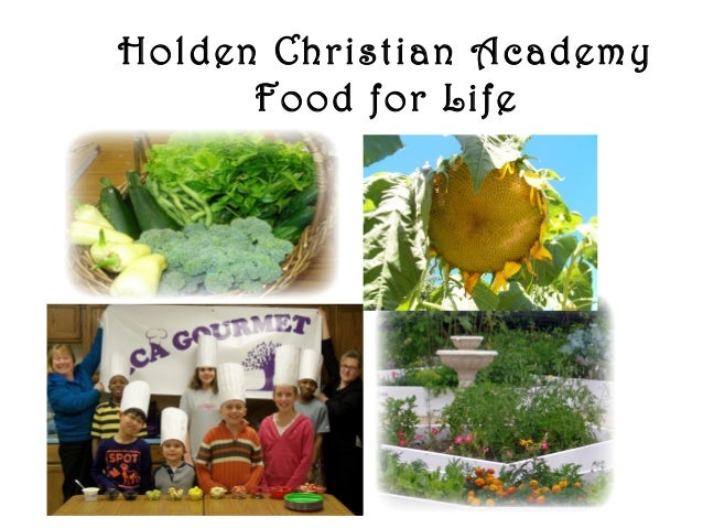 Holden Christian Academy Food for Life