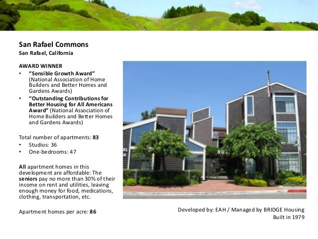 Affordable Housing In Novato