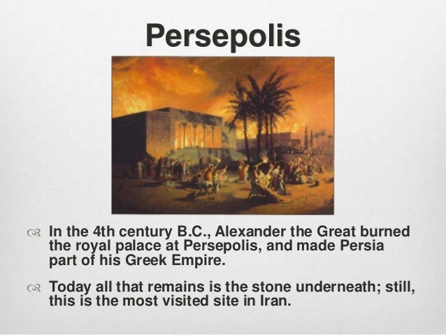 Powerpoint For Persepolis Historical Background
