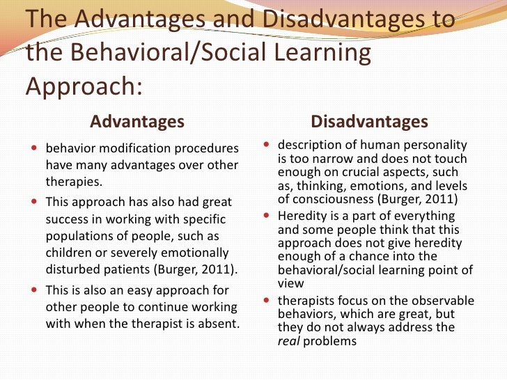 Image Result For Weaknesses Of Social Learning Theory
