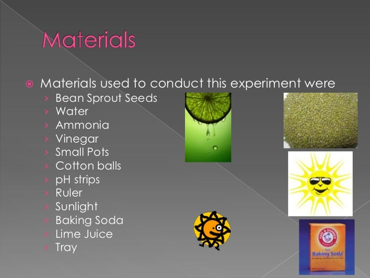 powerpoint for science experiment