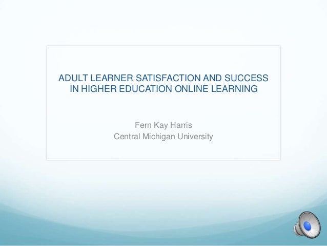 Online learning and the adult learner
