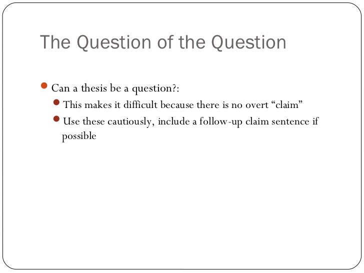 is starting an essay with a question bad Writing a good research question the following unit will discuss the basics of how to develop a good research questions and will provide examples of well-designed questions.