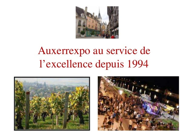 Powerpoint f te quai 2016 for Auxerrexpo 2017