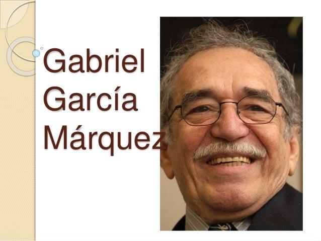 Power point grabiel garcia marquez doce cuentos for Cuentos de gabriel garcia marquez