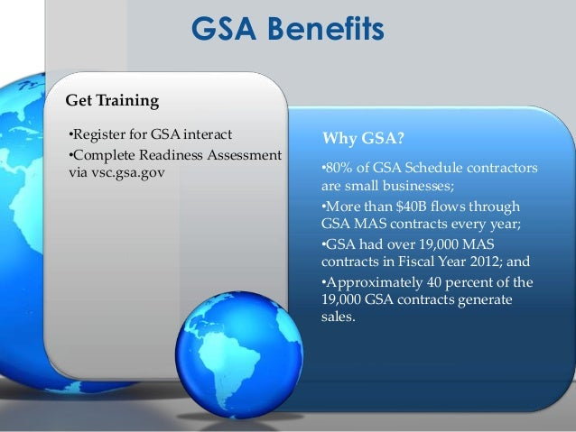 GSA Schedule Program Overview and Tips