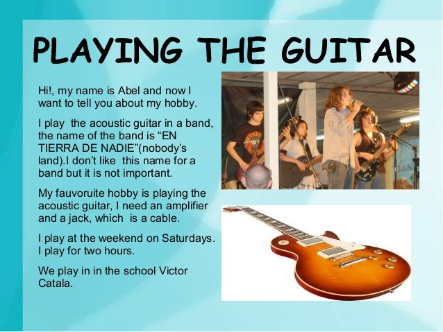 Jack Essay On Playing Guitar As A Hobby case your