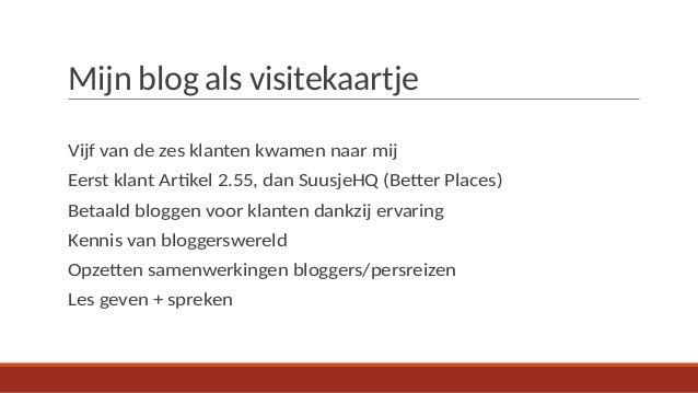 Hoe Kan Je Geld Verdienen Met Je Weblog Suzanne Van Duijn Suusjeh
