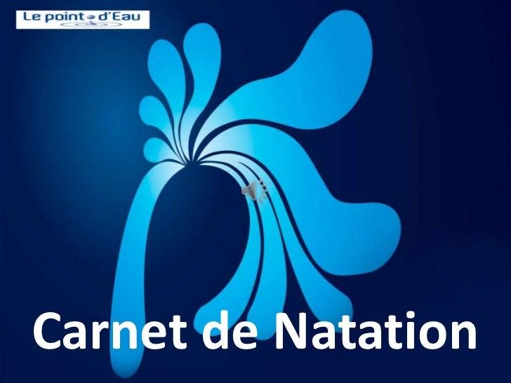 Carnet de Natation