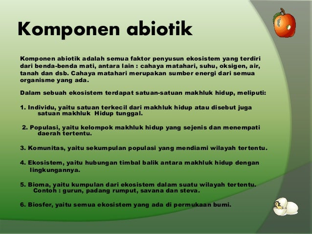 Keseimbangan Ekosistem Power point ilmu lingkungan