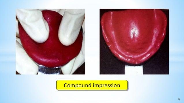 32 Compound impression