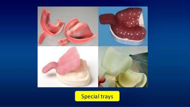 7 Special trays