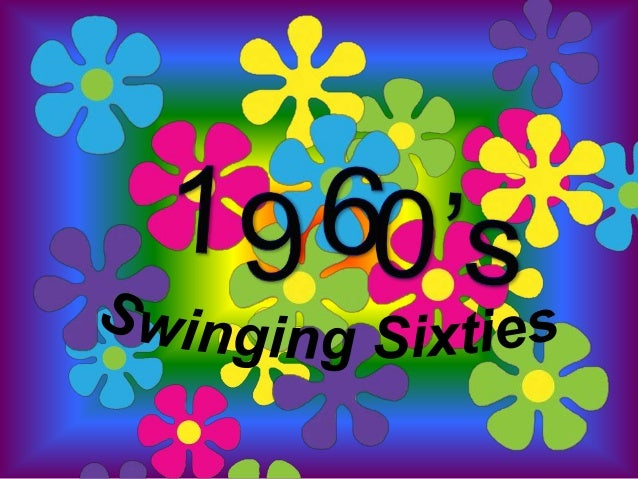 Swinging 60 s backgrounds