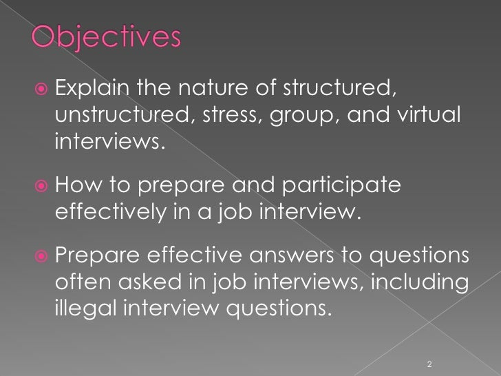 ... Including Illegal Interview Questions. 2; 2.