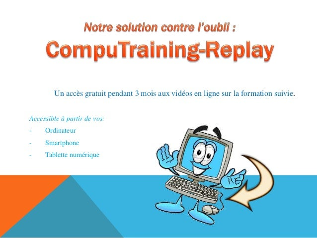Computraining by geoffroyadele Slide 3