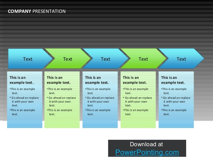 business presentations example