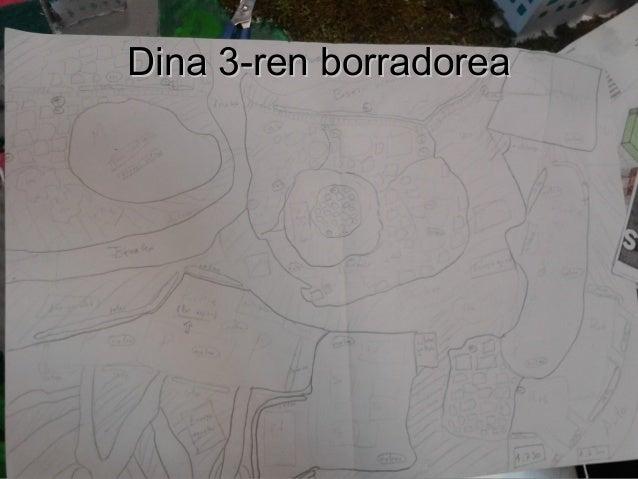 Dina 3-ren borradoreaDina 3-ren borradorea