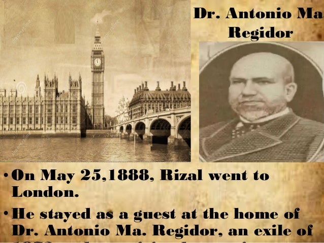 what is summary in rizal in london When rizal left new york for london from may 13-16, 1888, dr jose p rizal  stayed at the fifth avenue hotel it was one of the best hotels in.