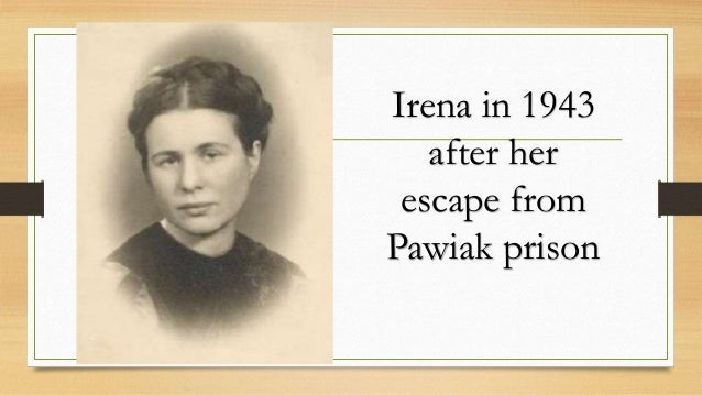 essay on irena sendler Essay - life in a jar: the irena sendler project / subjects: miscellaneous - phd while the media goes berserk over a royal baby in england, life focuses on a heroic.