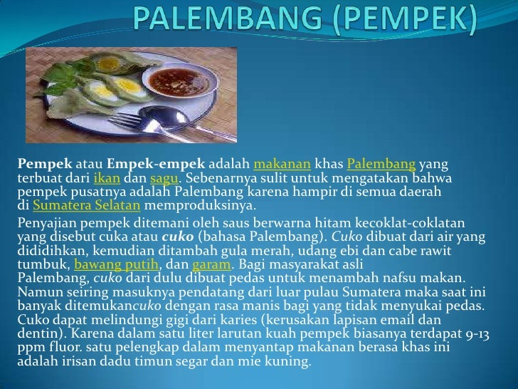 Power Point Jajanan Tradisional Indonesia