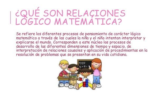 Relaciones Lógico Matemáticas para nivel inicial