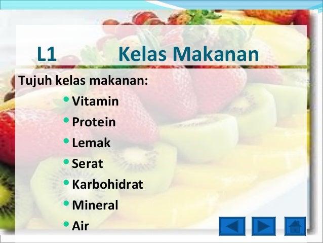 Powerpoint kelas makanan