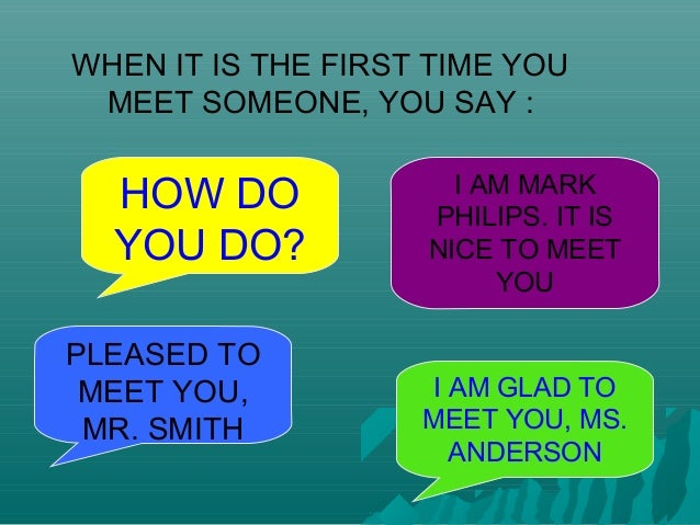 Greetings how to introduce oneself and other people m4hsunfo