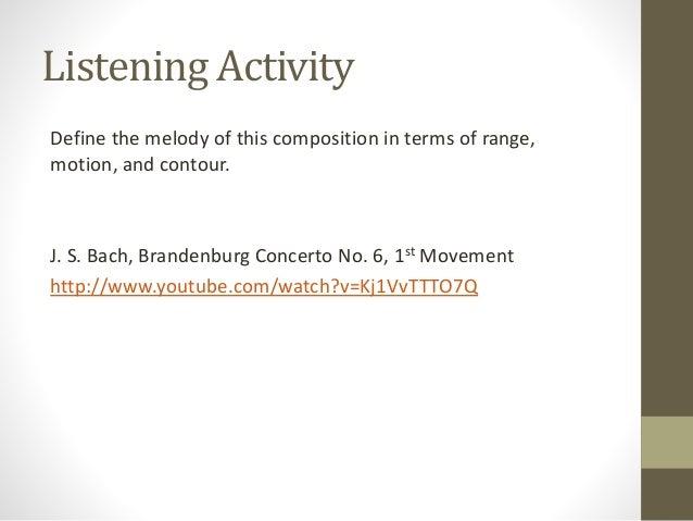Study melodic intervals