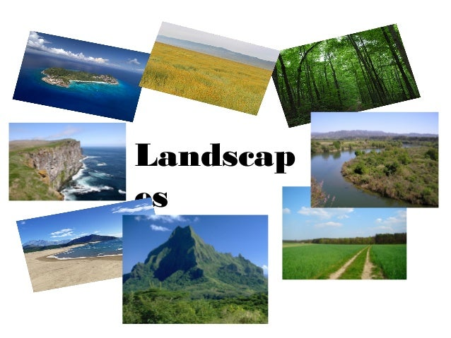 Powerpoint landscapes