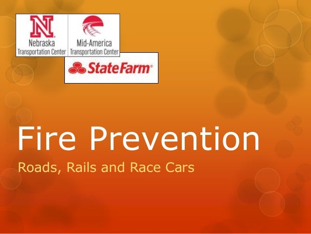 Fire Prevention Roads, Rails and Race Cars