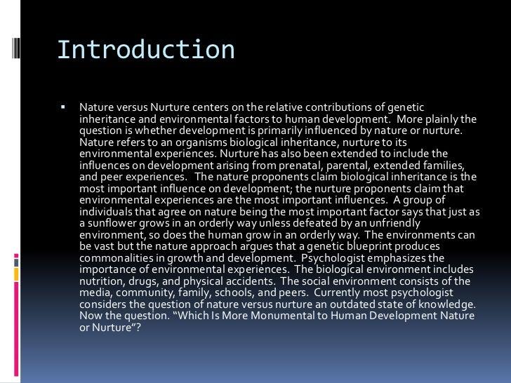 nature and nurture essay co nature and nurture essay