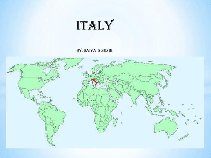 ItalyBy: Saiya & Susie