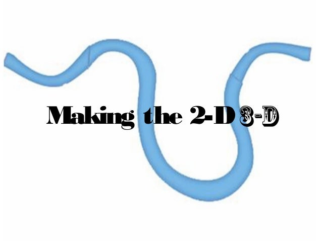 Making the 2-D3-D